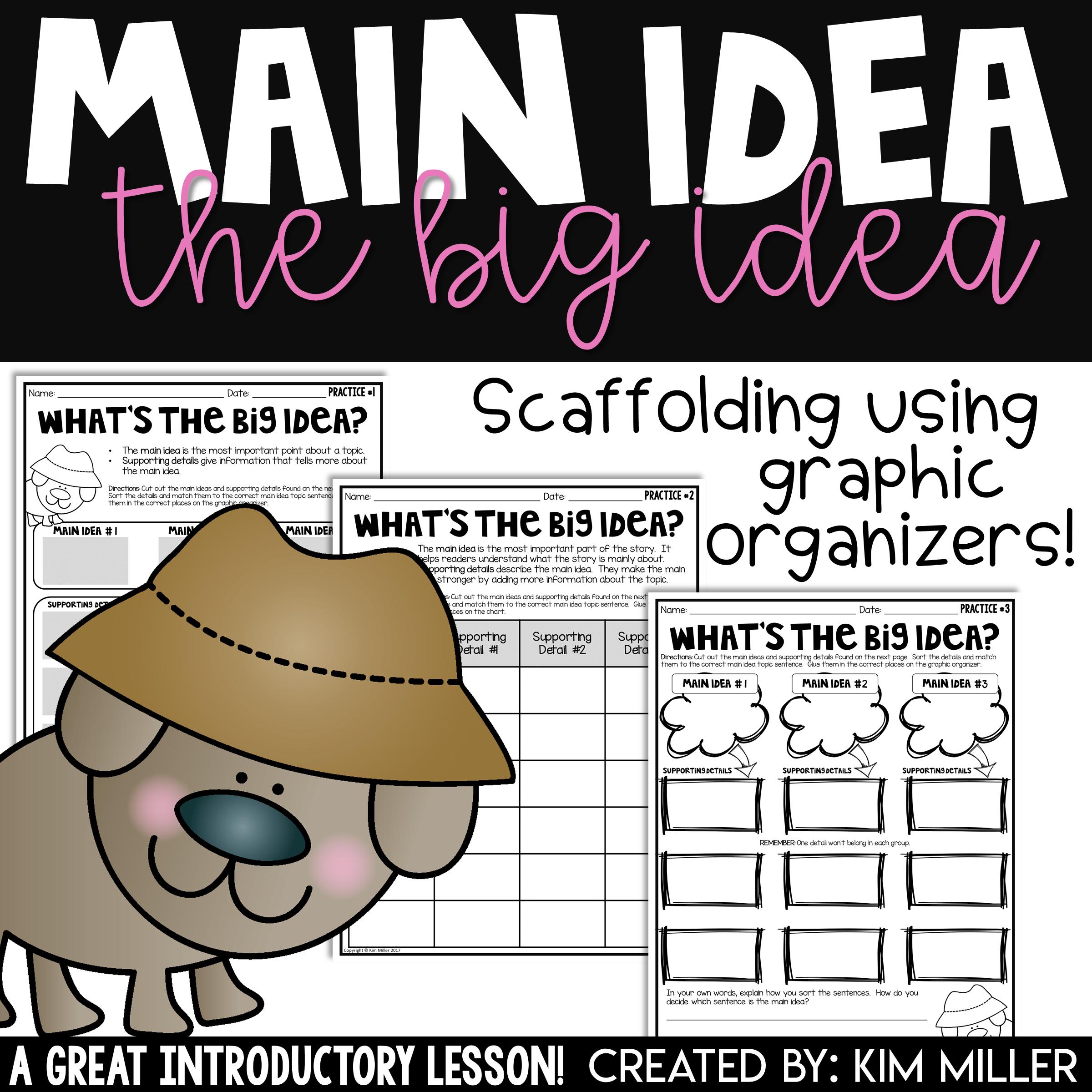 Main Idea The Big Idea