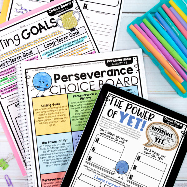 Character Education Perseverance