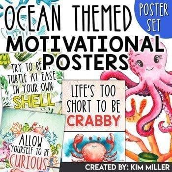 ocean theme posters