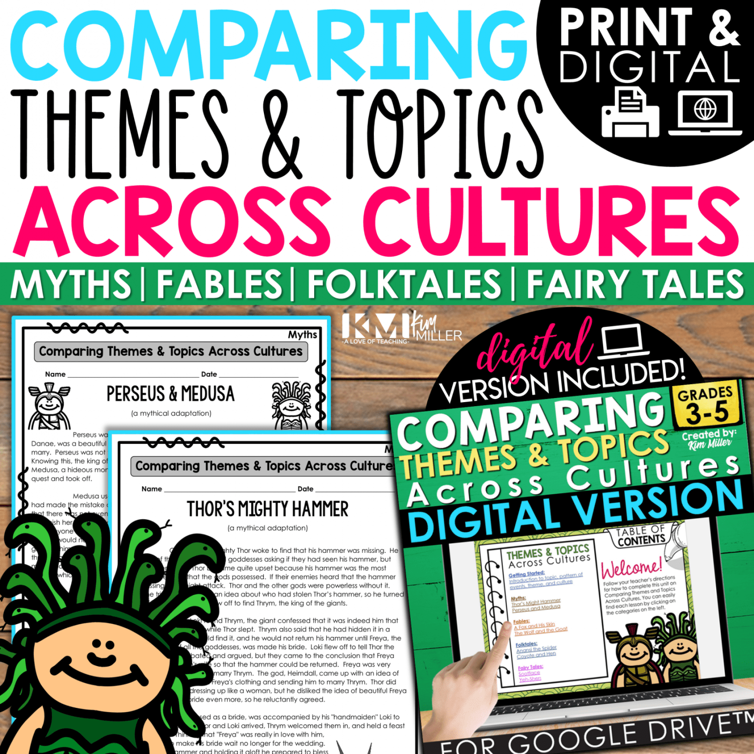 Compare & Contrast Themes and Topics Across Cultures