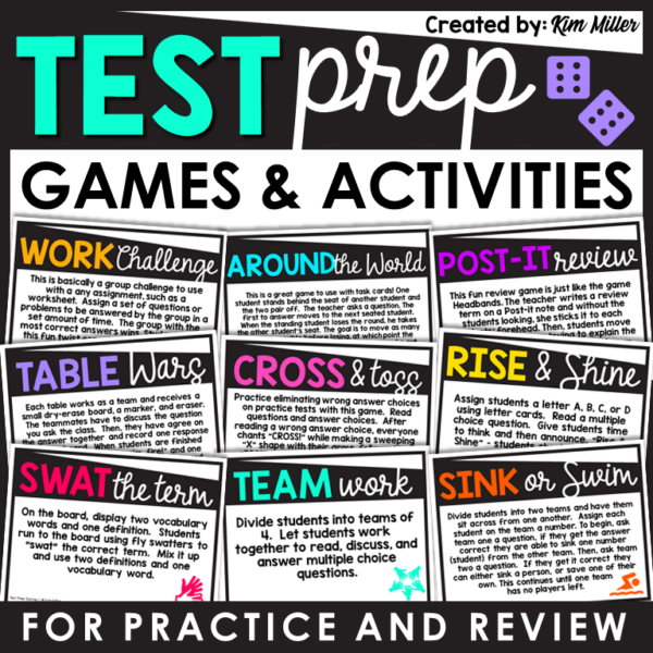 Test Prep Games and Activities