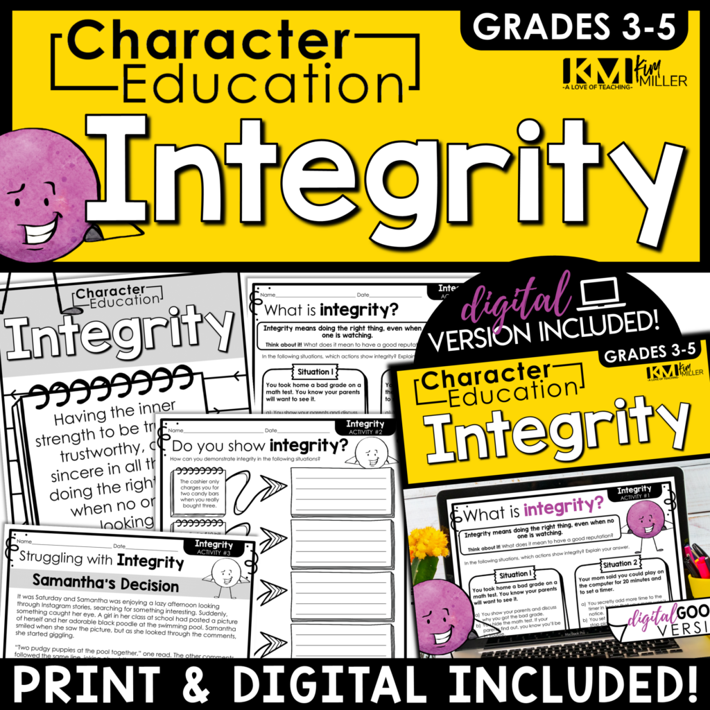 Character Education Integrity