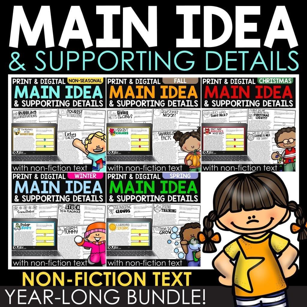 Main Idea with Non-Fiction Text Bundle