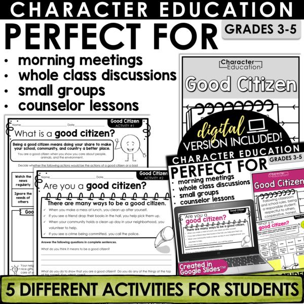 Character Education Good Citizen