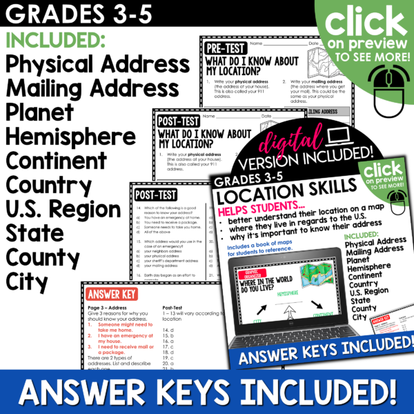 Location and Map Skills Unit