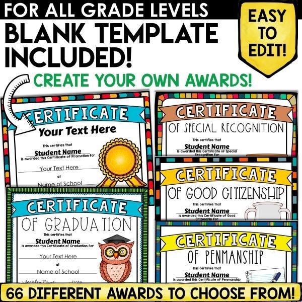 Print and Digital Academic Certificates