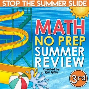 3rd grade summer math review