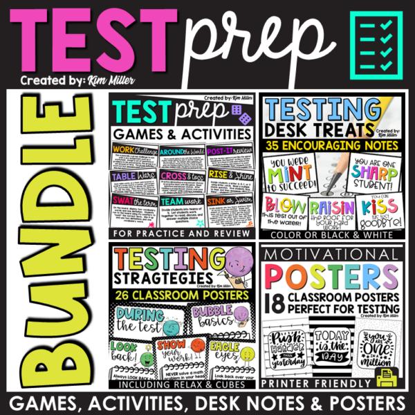 Test Prep Bundles of Games and Activities