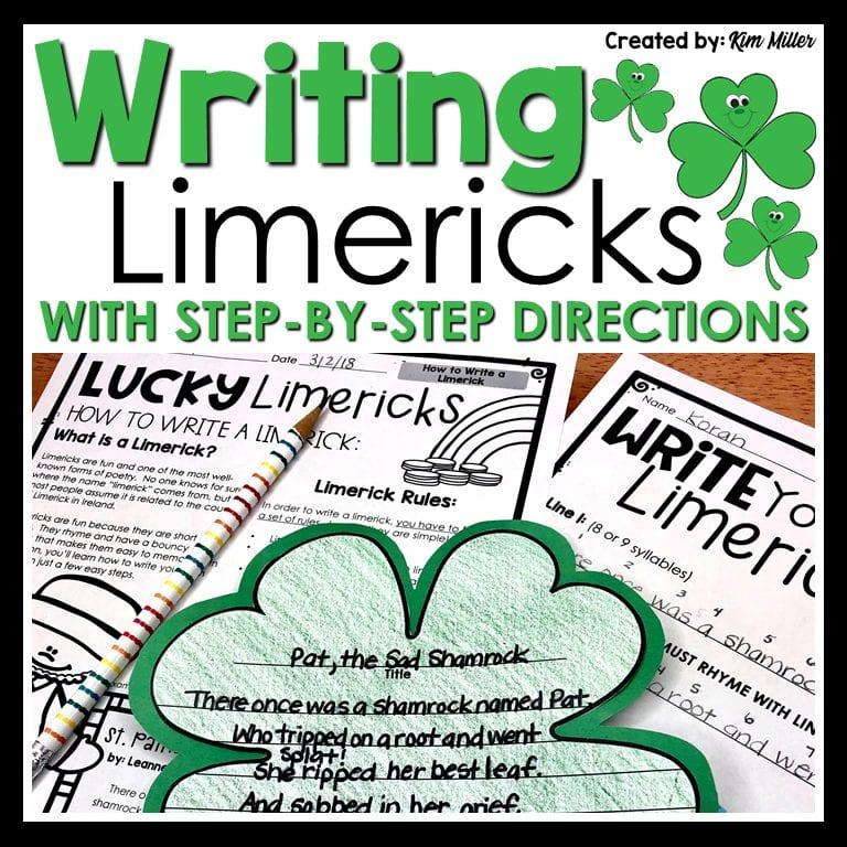 Writing Limericks Freebie