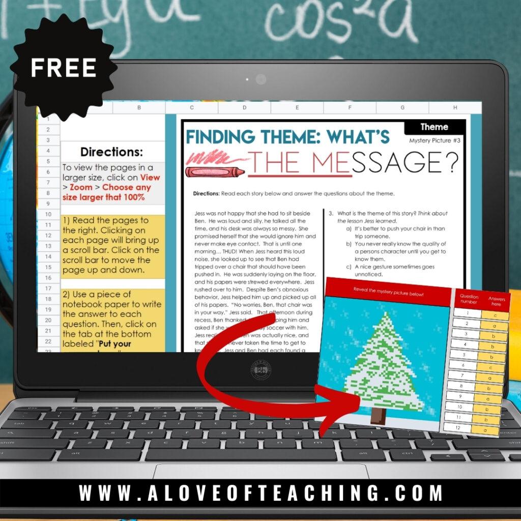 free reading comprehension digital activities