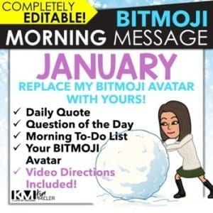 January Morning Message