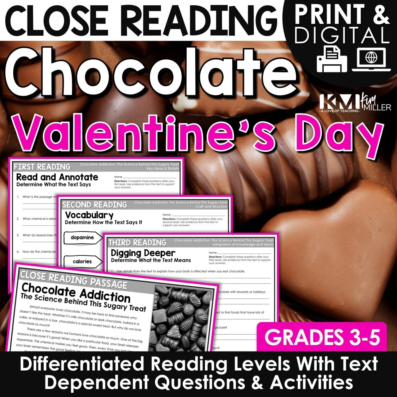 Chocolate Close Reading