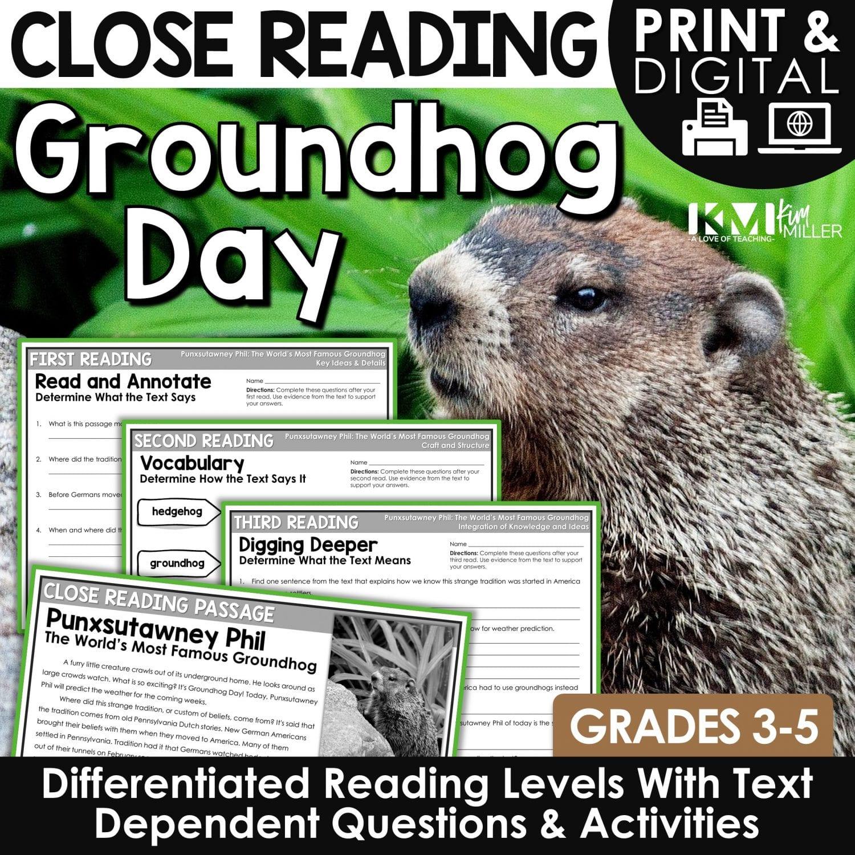 Groundhog Day Close Reading