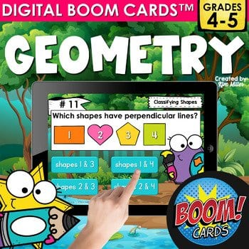 Boom Cards for Geometry