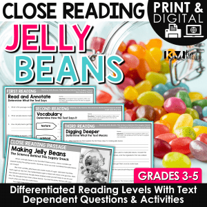 Easter Jelly Beans Close Reading