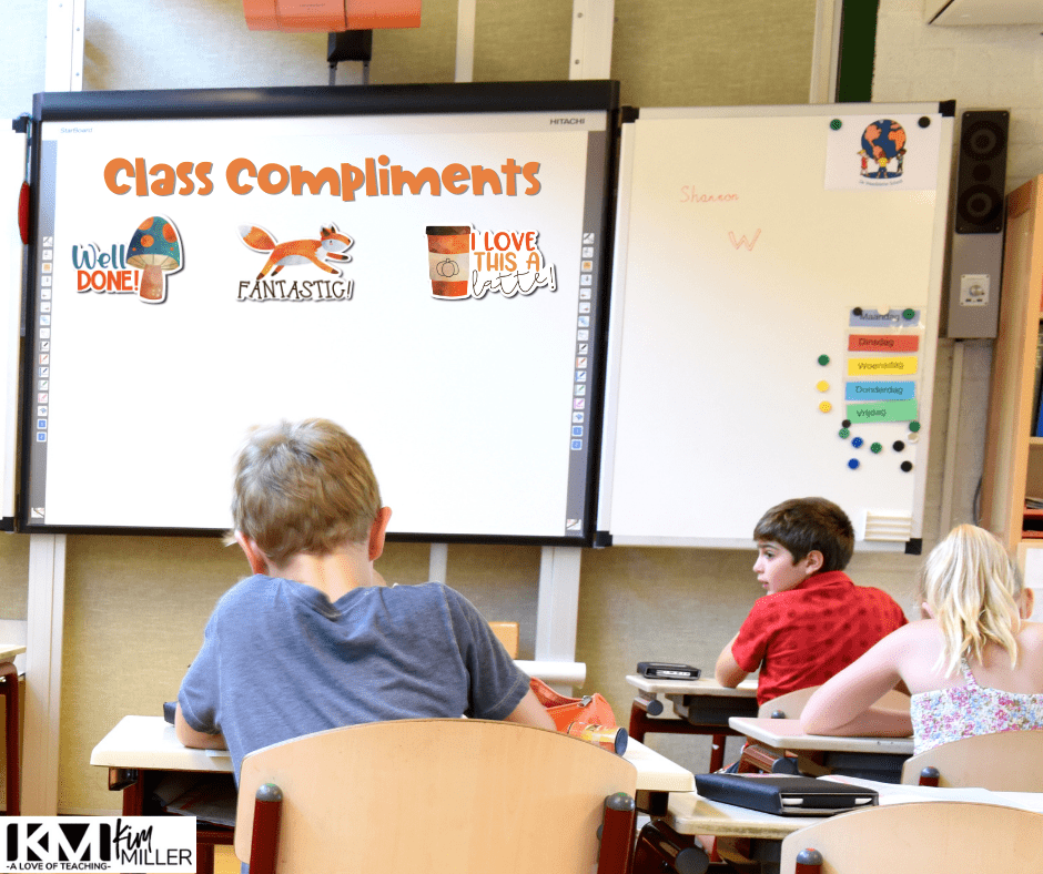 Use digital stickers to create a fun and seasonal classroom management reward system.