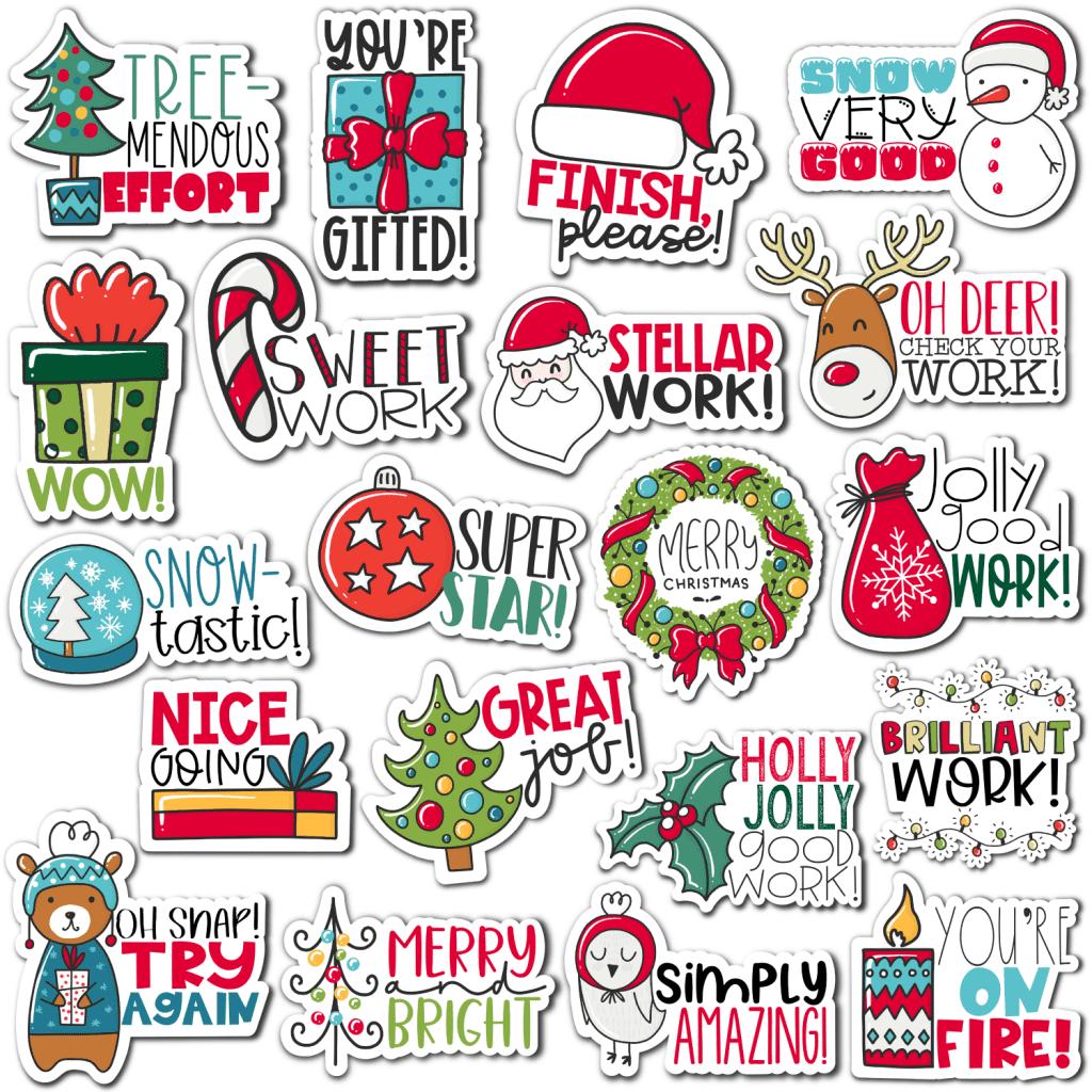 Christmas Digital Stickers
