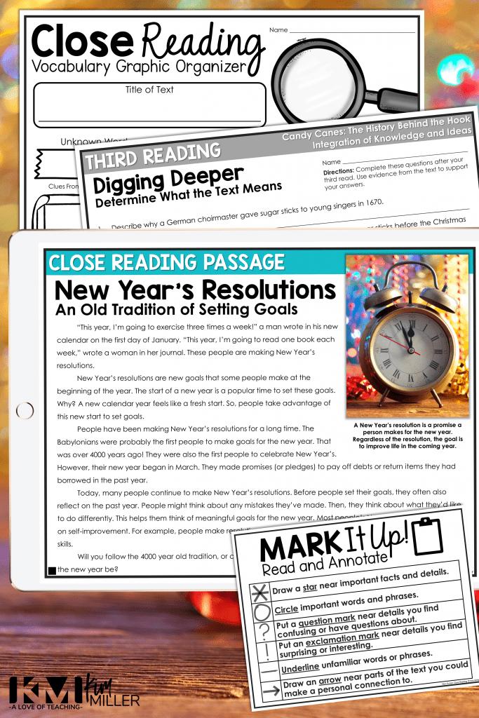 January Ideas for Grades 3-5