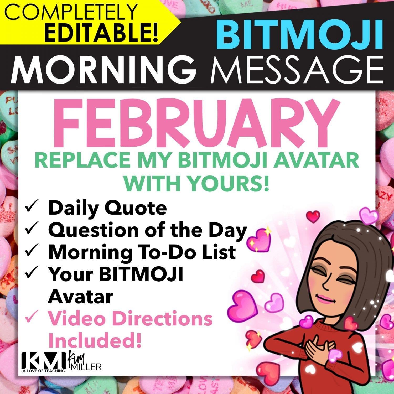 February Morning Message Slides