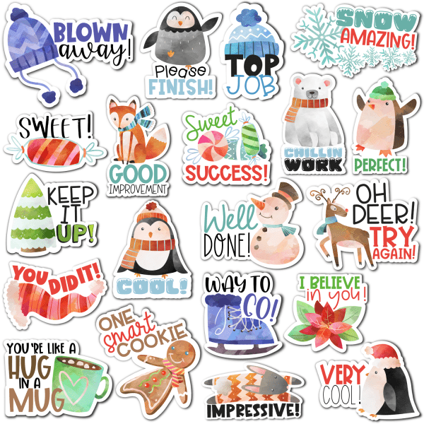 Winter Digital Stickers