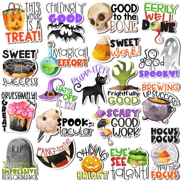 Halloween Digital Stickers