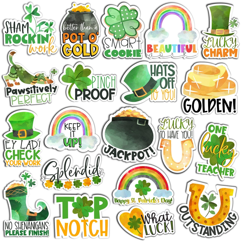 St. Patrick's Day Digital Stickers