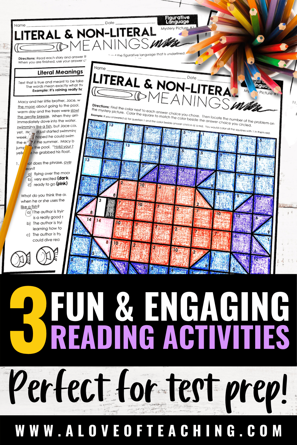 Fun & Engaging Reading Comprehension Activities