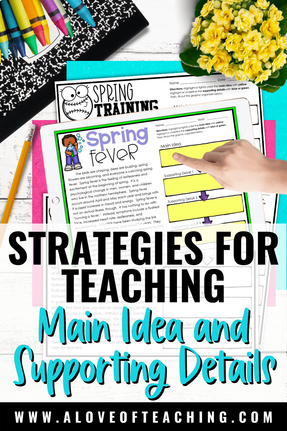 Strategies for Teaching Main Idea and Supporting Details