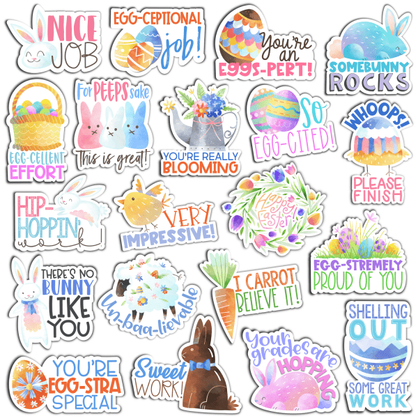 Easter Digital Stickers