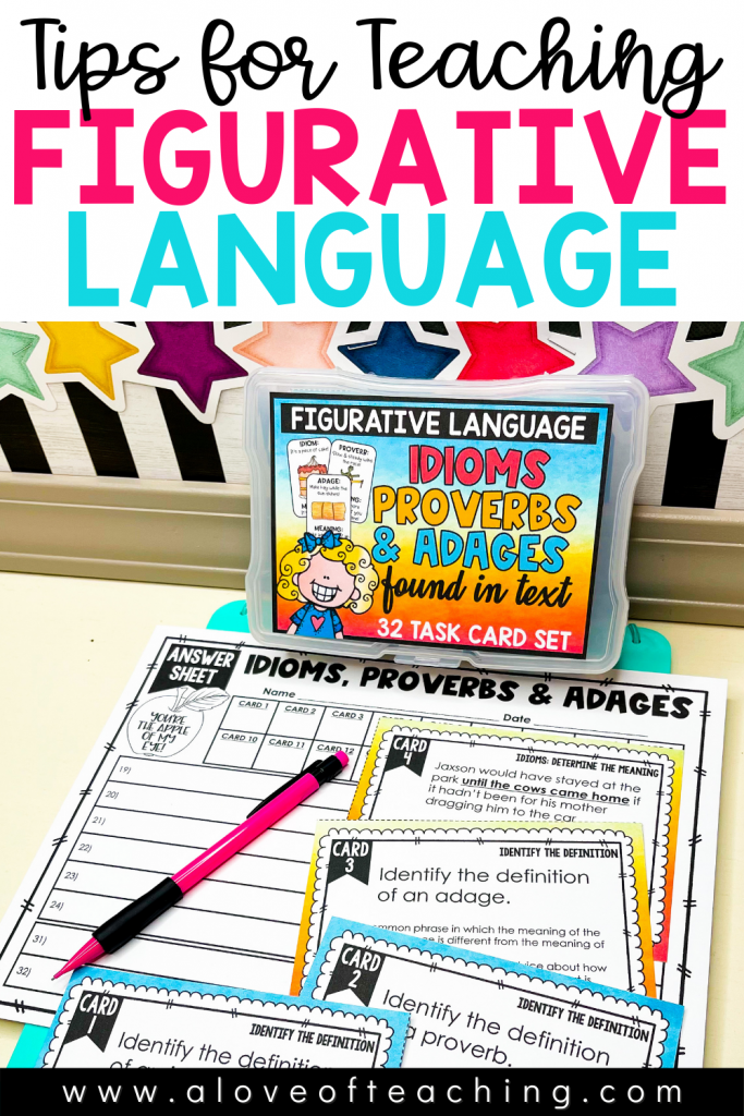 Tips for Teaching Idioms, Proverbs, and Adages