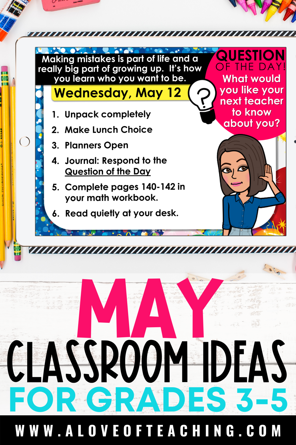 May Activities for the Classroom
