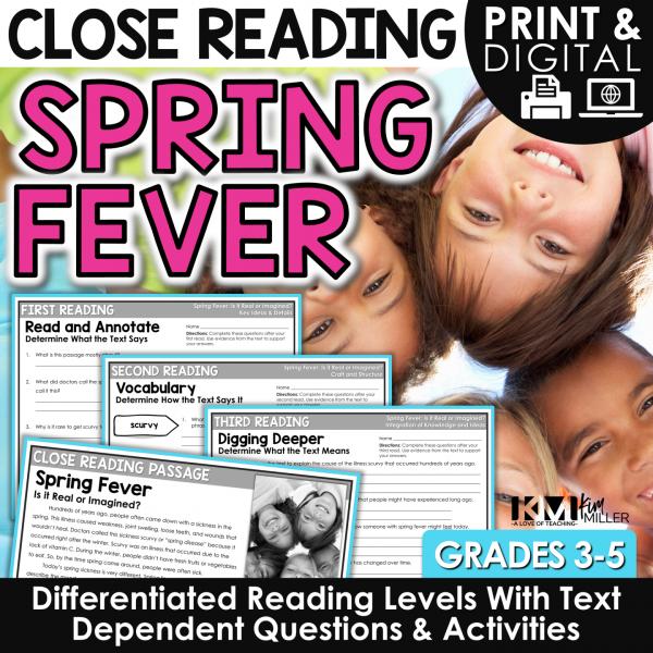 Spring Fever Close Reading