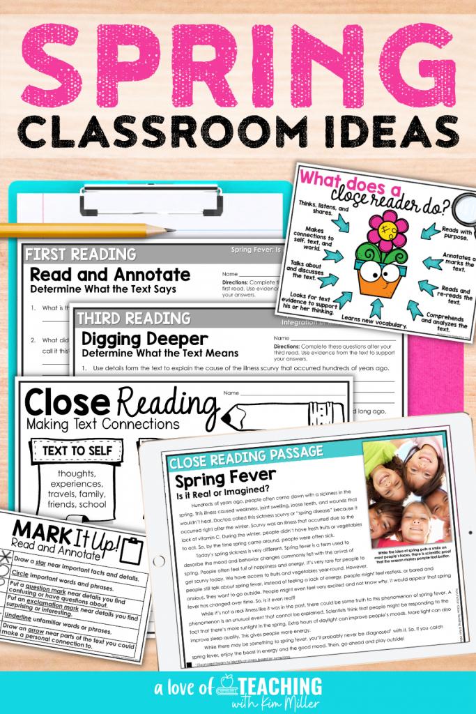Spring Classroom Ideas