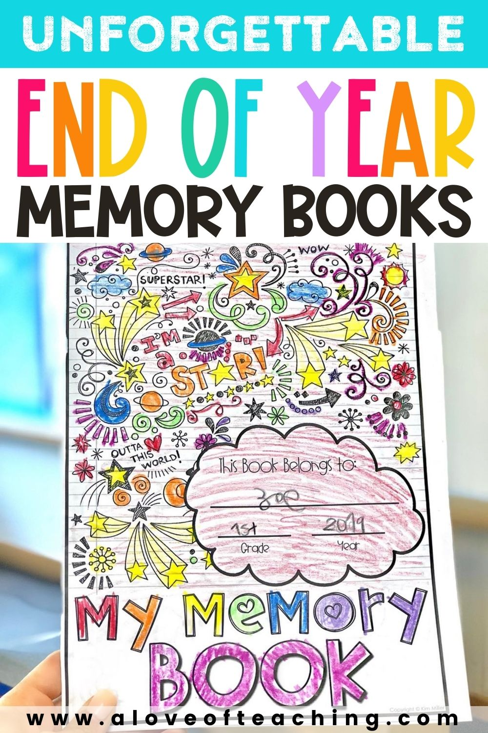 End of Year Memory Books That Are Unforgettable