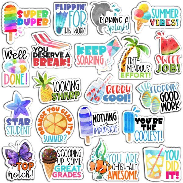 Summer Digital Stickers