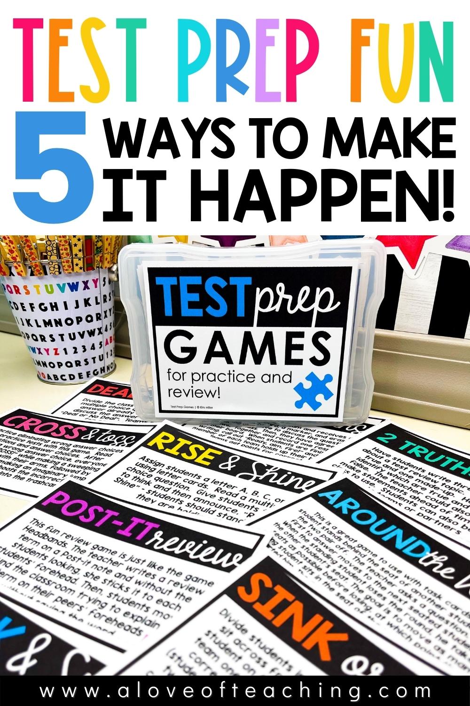 5 Ways to Make Test Prep Fun