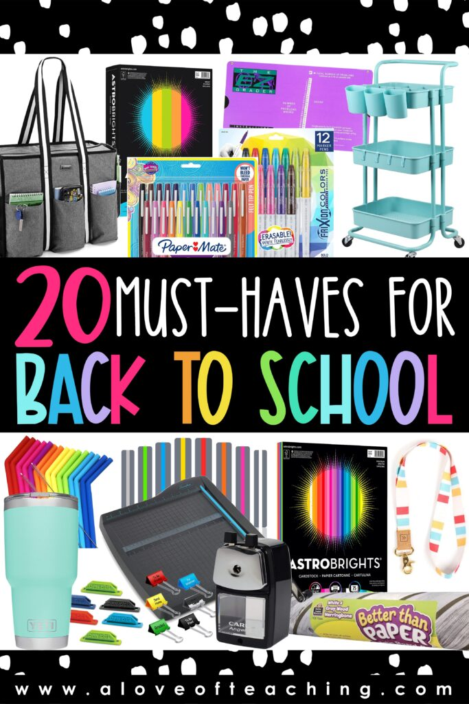 20 Back to School Must Haves