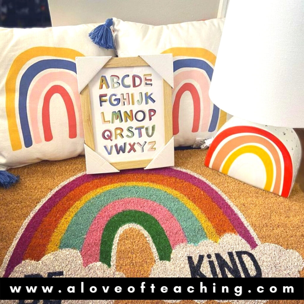 Classroom Decor Lamps and Pillows