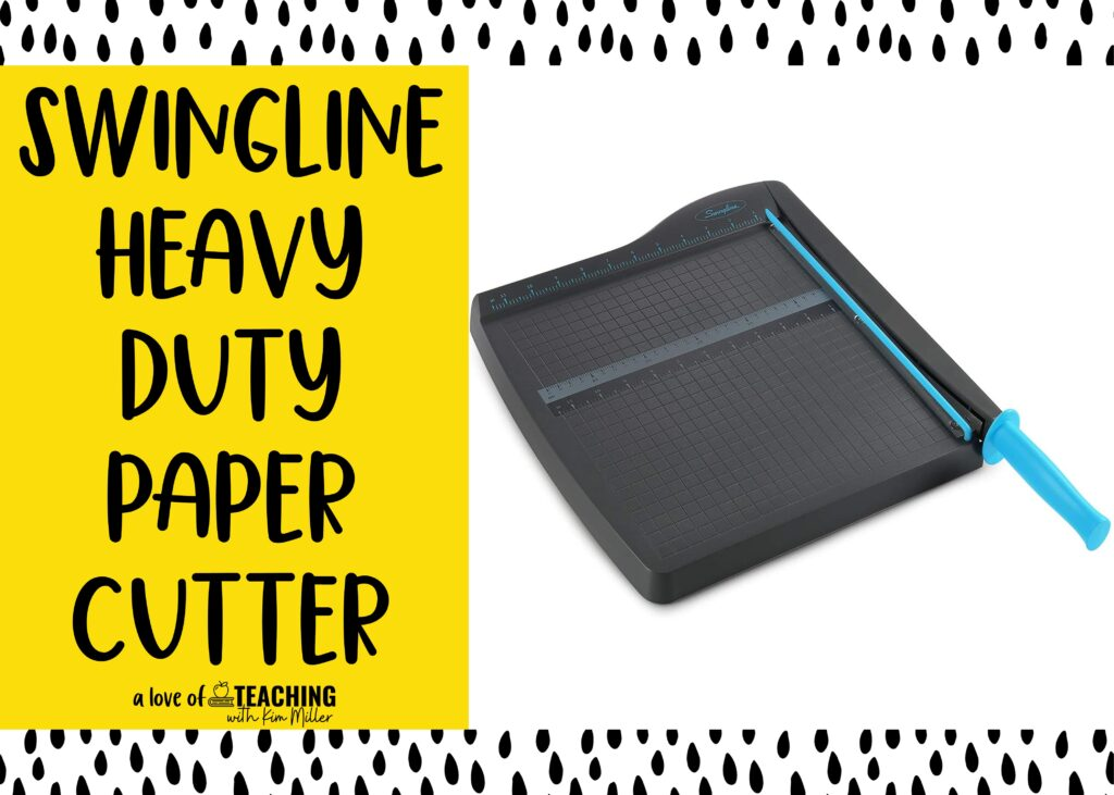 back to school must haves paper cutter