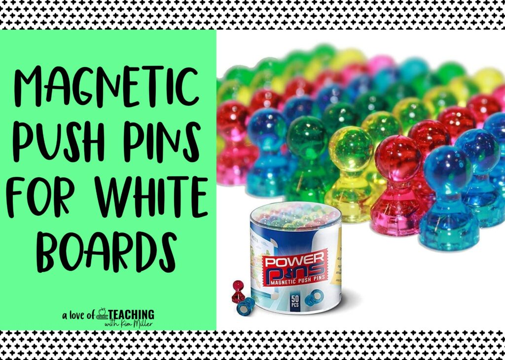 back to school must haves push pins
