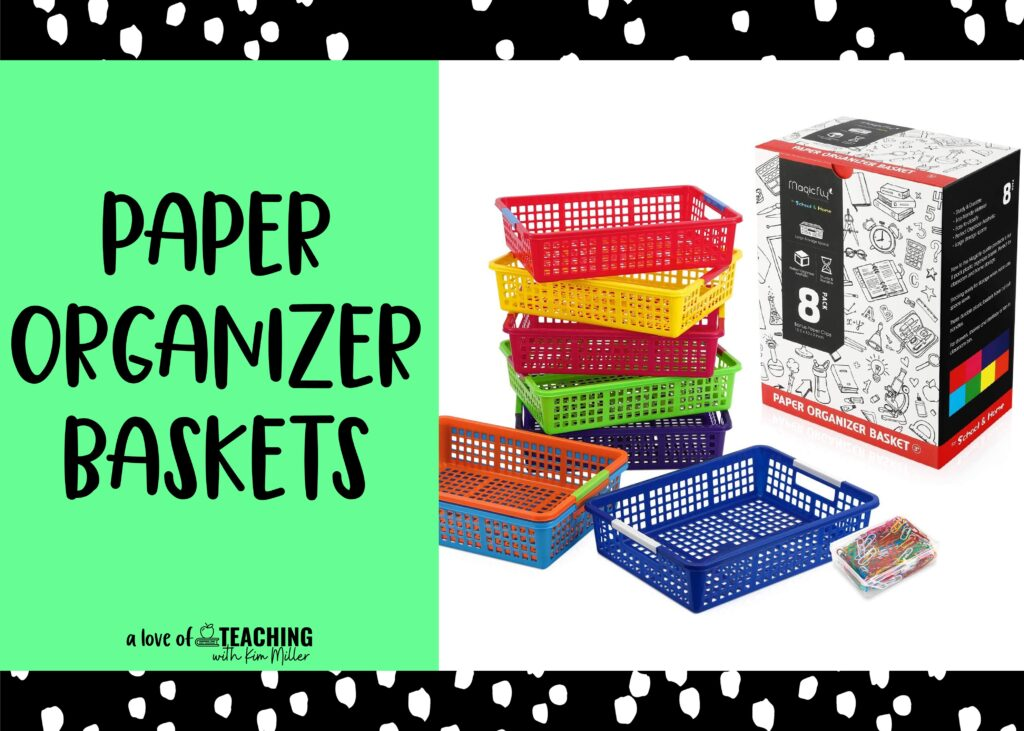 back to school must haves baskets