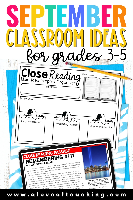September Ideas for the Classroom