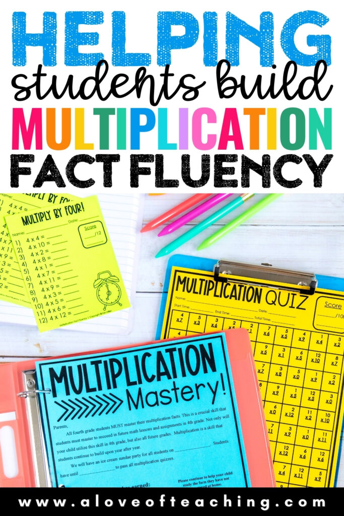 Helping Students Build Multiplication Fact Fluency