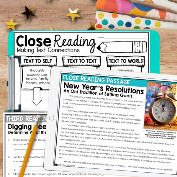 New Year Close Reading