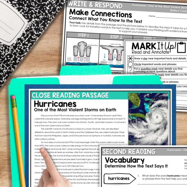 Hurricanes Close Reading