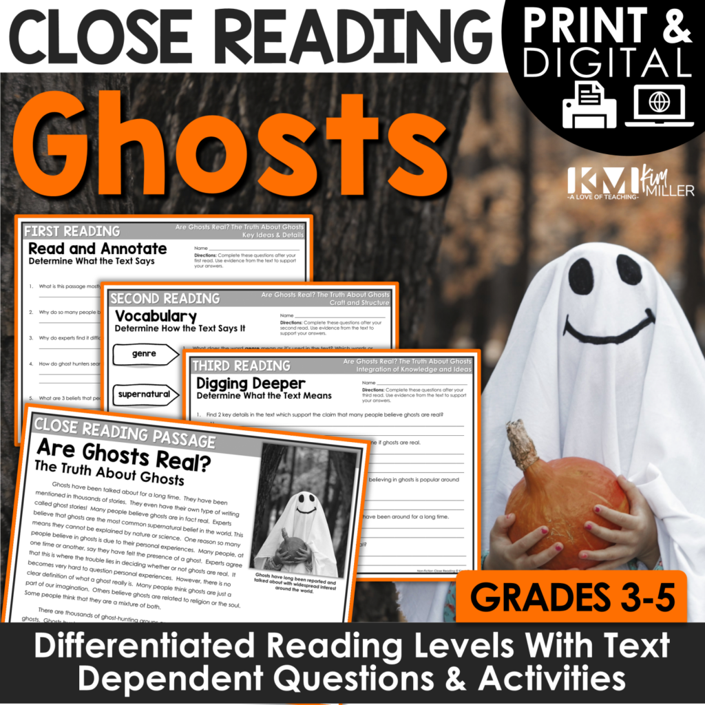 Are Ghosts Real Close Reading
