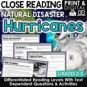 Hurricanes Close Reading Lesson