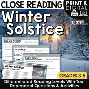 Winter Solstice Close Reading