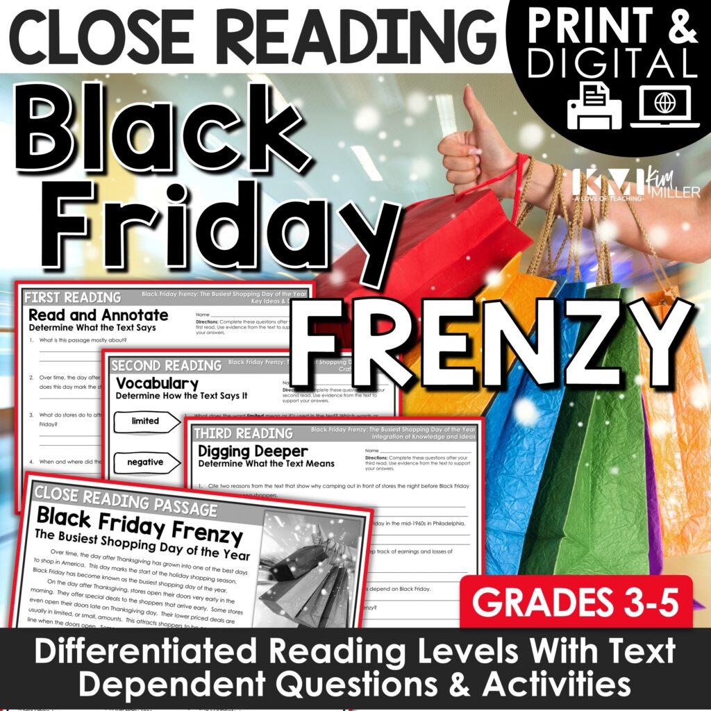 Black Friday Close Reading