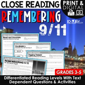 September 11 Close Reading Passages